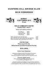 Hunters Hill Congress 2018